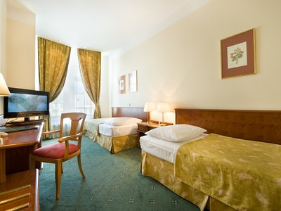 EA Hotel Rokoko**** - twin with a view of Wenceslas Square